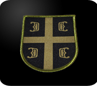 serbian camouflage 4c's patch