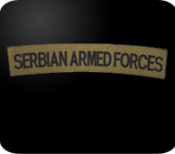 serbian armed foces patch