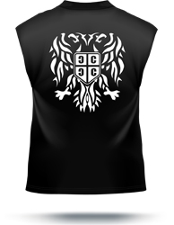 serbian eagle muscle t-shirt