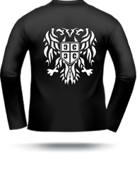 mens serbian eagle shirt