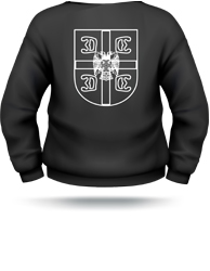 serbian shield sweater, serbian eagle sweater